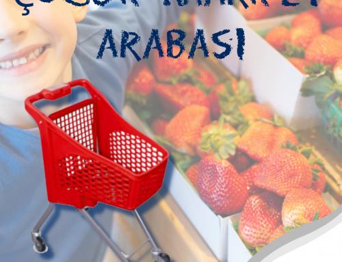 Minik Alışveriş Severlere Minik Market Arabası!